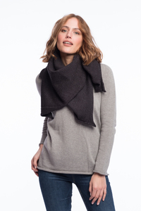 Merino Tuch/Plaid Black&Grey - ACHAHHA®