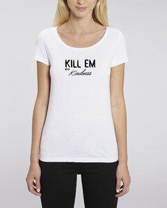 "Bio Damen T-Shirt ""Faith Modal - Kill Em""  - Human Family"