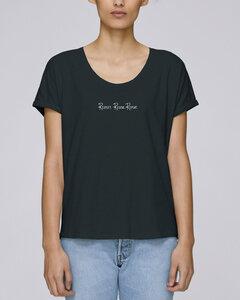 """Oversize Damen T-Shirt - Relaxing """"Respect"""" - Human Family"""