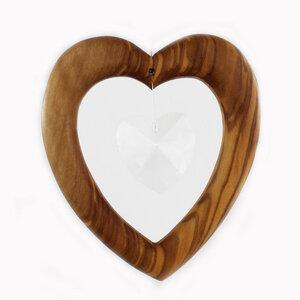 Fensterschmuck  Herz aus Holz elegant  - Mitienda Shop