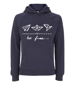 be free – Unisex Pullover Hoodie  - DENK.MAL Clothing