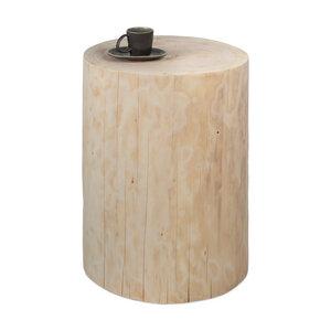 Baumstamm Beistelltisch Fichte ungeölt Holzblock Holzklotz Hocker - GreenHaus