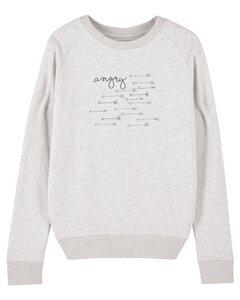 "Damen Sweatshirt aus Bio-Baumwolle ""Angry"" - University of Soul"