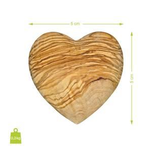 Deko-Herz Handschmeichler aus Olivenholz Auswahl Größe 5 cm, 7cm oder 10 cm - NATUREHOME