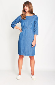 Emilia Denim Shift Dress - bibico