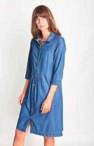 Lucy Denim Shirt Dress - bibico
