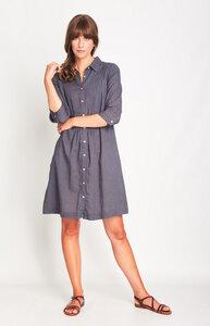 Lucy Linen Shirt Dress - bibico