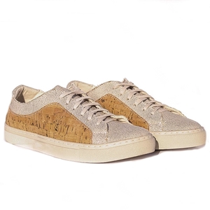 Tavira Sneaker (Kork/Canvas) - Fairticken