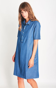Joe Denim Shirt Dress - bibico