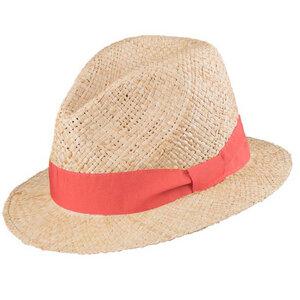 Damen und Herren Strohhut mit UV-Schutz Raffia-Stroh - Pure-Pure