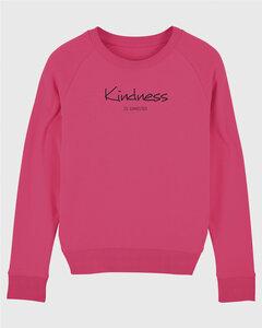 Bio Damen Sweatshirt - Feel Kindness - in 4 Farben - Human Family