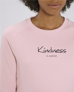 Bio Damen Sweatshirt - Feel Kindness - in 4 Farben - Human Family