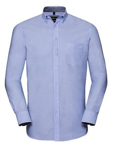 Herren Langarm Hemd Tailored washed Oxford von Russel Collection - Russel Collection
