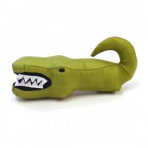 Öko Hundespielzeug Aretha The Alligator aus Stoff und recyceltem PET - BecoPets