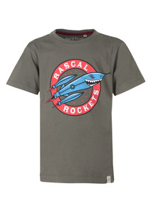 Rocket  - Cooles Kinder T-Shirt Kurzarm aus 100% Bio-Baumwolle - Band of Rascals