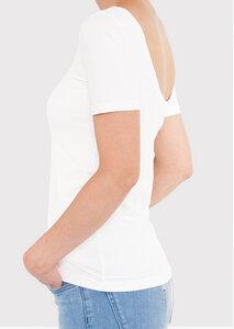 Shirt EDDA mit tiefem Rückenausschnitt - treu