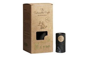 Biologisch abbaubare Hundekotbeutel mit Henkel, 112 Stück - The Sustainable People
