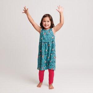 Kleid 'Hello Spring/Zartrosa'' aus 95% Bio-Baumwolle, 5% Elasthan - Cheeky Apple