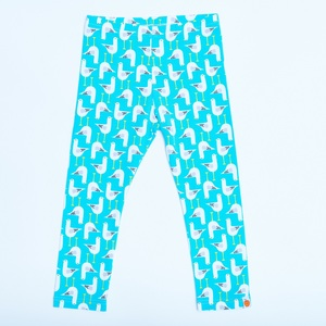 "Leggings ""Seagulls"" aus 95% Bio-Baumwolle, 5% Elasthan - Cheeky Apple"