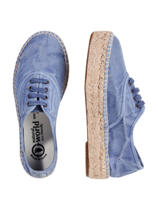 Damen Espadrilles washed - Ingles Yute Tintado Enzimatico - natural world