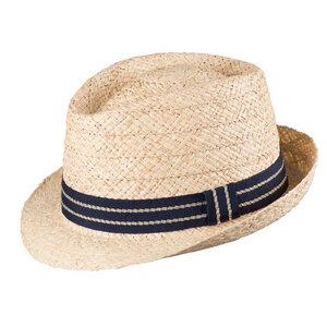 Herren Strohhut mit UV-Schutz Raffia-Stroh - Pure-Pure