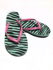 Hippobloo Flip Flop - Crazy Zebra - Hippobloo