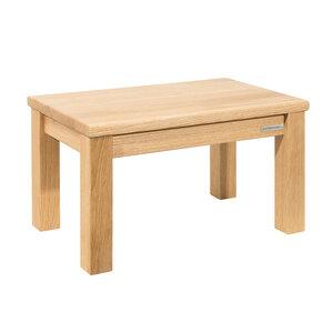 Kinder-Sitzbank Fußbank ECO aus Eichen-Holz Natur geölt 43 x 26 x 24 cm - NATUREHOME
