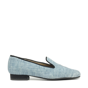 NAE Kraz Blue | Vegane Damen- Loafer  - Nae Vegan Shoes