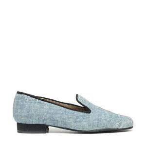 NAE Kraz Blue | Vegane Damen- Loafer  - Nae Vegan Shoes