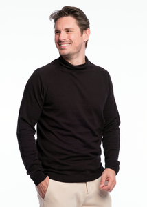 Turtleneck Knit Bio Merino  - ACHAHHA®