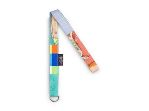 GROẞE AUSWAHL - Upcycling Schlüsselband aus Stoffresten - Patchwork - Leesha