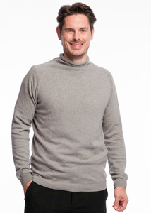 Turtleneck Knit Bio Cotton  - ACHAHHA®