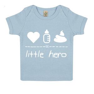 little hero – Baby Shirt  - DENK.MAL Clothing