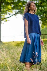 Olga Organic Knitted Vest - bibico