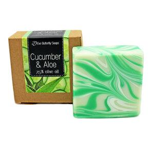 "Naturseife ""Cucumber & Aloe Vera"" - Eve Butterfly Soaps"