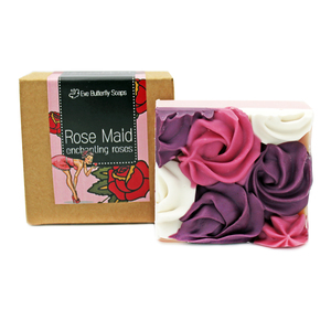 "Naturseife ""Rose Maid"" - Eve Butterfly Soaps"