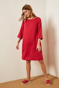 Kleid aus Modal mit Baumwolle - LANIUS
