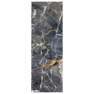 All-In-One Yogamatte Grey Marble 3,5mm - FITTASTIC