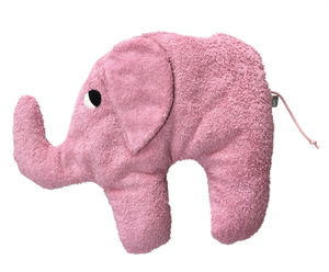"""Kuschelkissen """"Elefant"""",100% Baumwolle aus kontrolliert biologischem Anbau. - PAT & PATTY"""
