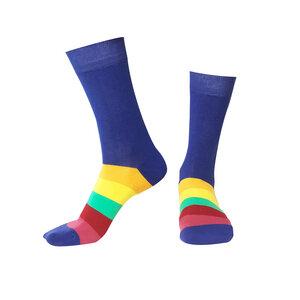 Blau Socken Bio GOTS |Bunte Socken |Herren Damen Socken | Blue Socks - Natural Vibes