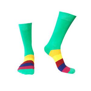 Socken Bio GOTS |Bunte Socken |Herren Damen Socken | Grün Green Socks - Natural Vibes