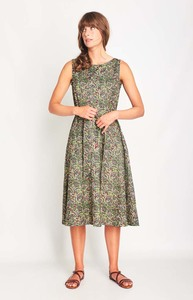 Grace Swing Sleeveless Dress - bibico