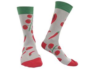 Socken Bio GOTS |Bunte Socken |Herren Damen Vegan | Tomaten Socks - Natural Vibes