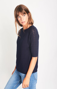 Molly Organic Knitted Top - bibico
