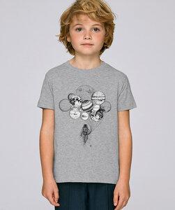 T-Shirt mit Motiv / Astronaut mit Planeten - Kultgut