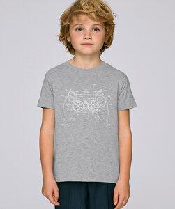 T-Shirt mit Motiv / white Controller - Kultgut