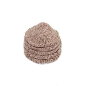 Strickmütze 'Kaschmir-Wolle-Seide - altrosa' - Preciosa