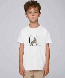 T-Shirt mit Motiv / Coyote - Kultgut
