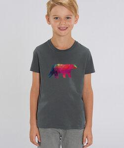 T-Shirt mit Motiv / Polarbär - Kultgut