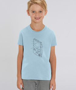 T-Shirt mit Motiv / Retro-GameBoy - Kultgut